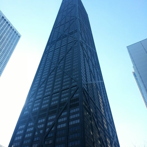 Photo taken at John Hancock Center by Anne on 3/12/2015