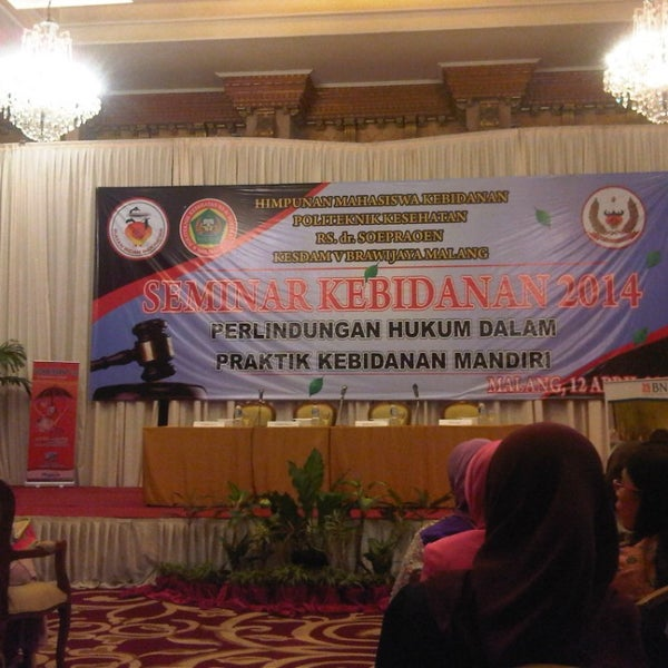 Photo taken at Hotel Gajahmada Graha by Dewi M. on 4/12/2014