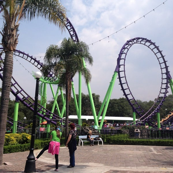 Photo taken at Six Flags México by Lu M. on 7/16/2013