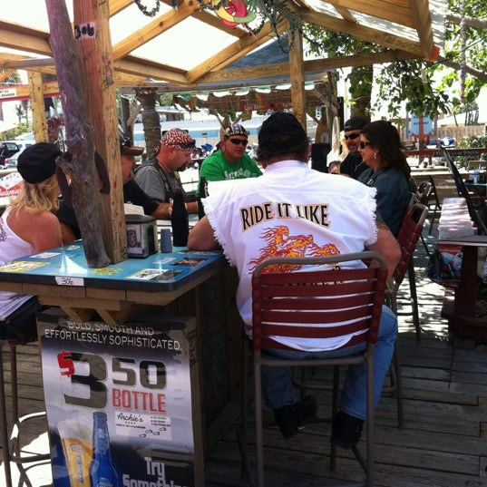 Photo taken at Archie's Seabreeze by Sue W. on 4/15/2012