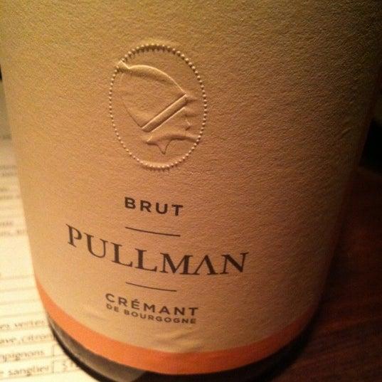 Domaine Billard a fait un super crémant au Pullman et on adore !