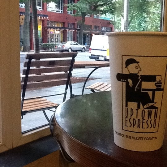 Photo taken at Uptown Espresso by Bob P. on 8/22/2011