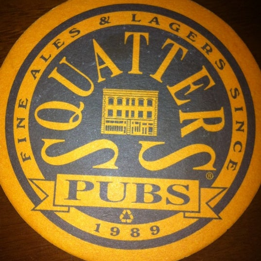 Photo taken at Squatters Pub Brewery by Mark L. on 10/4/2011