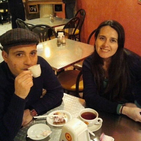 Photo taken at Caffe Pompei by Miguel F. on 2/19/2012