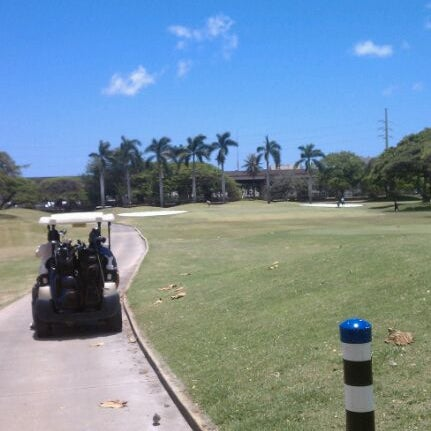 Photo taken at Navy Marine Golf Course by Kevin N. on 5/9/2012