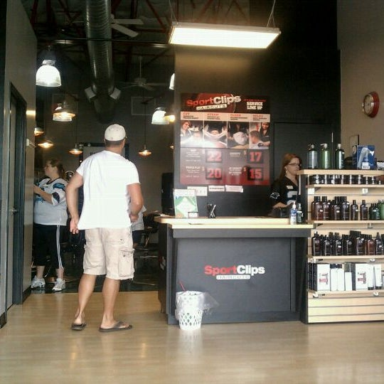 Photo taken at Sport Clips by Marcus C. on 7/31/2011