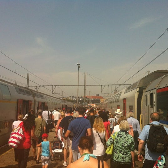 Photo taken at Station Blankenberge by Wim L. on 8/19/2012