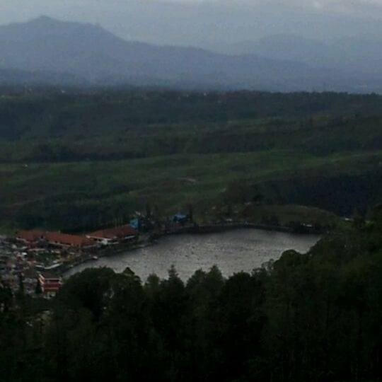 Photo taken at Telaga Sarangan by Astri S. on 3/21/2012