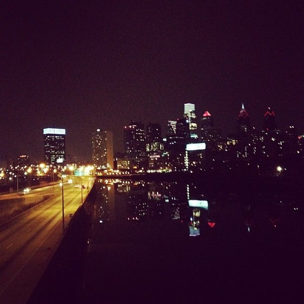 Photo taken at South Street Bridge by Mike G. on 2/15/2012