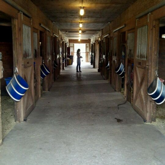 Photo taken at Oakshade Stables by Syd A. on 4/15/2012