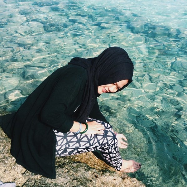 Photo taken at Pulau Pramuka by Annisa A. on 5/24/2015