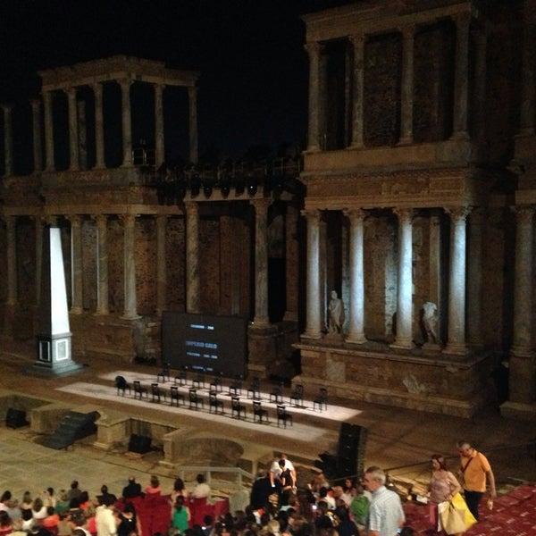 Photo taken at Anfiteatro Romano by Patricia J. on 7/25/2013