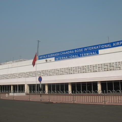 Netaji Subhas Chandra Bose International Airport is in Dum Dum, Kolkata, India. It is located approximately 16 km (10 miles) from Kolkata's city centre.