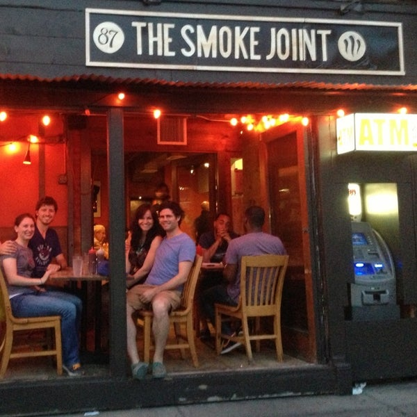 Photo taken at The Smoke Joint by Mike F. on 6/3/2013