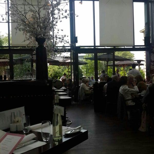 Photo taken at Holbein's Café-Restaurant by Lita on 5/12/2015