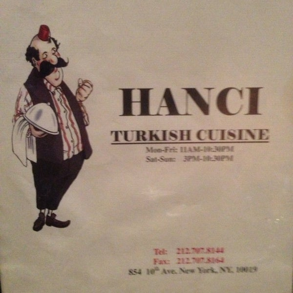 Photo taken at Hanci Turkish Cuisine by Kathy E. on 3/26/2014