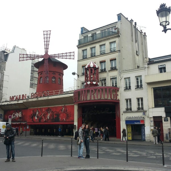 Photo taken at Moulin Rouge by Gunita A. on 3/17/2014