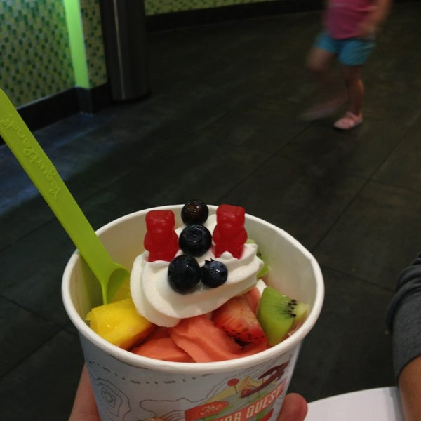 Photo taken at Yogurtland by Justin F. on 5/19/2013