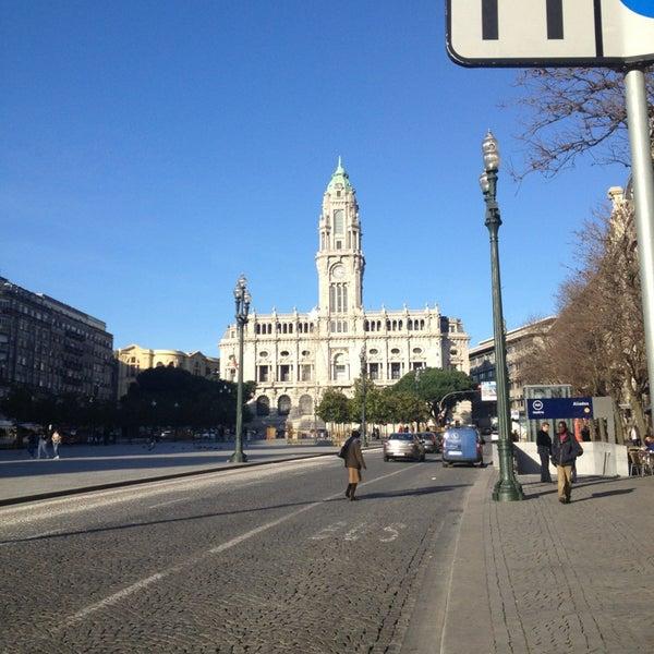 Photo taken at Avenida dos Aliados by Marco A. on 1/2/2013