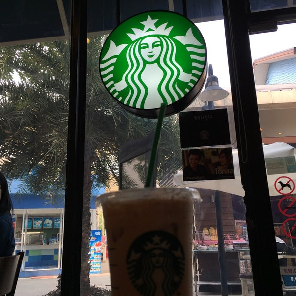 Photo taken at Starbucks (สตาร์บัคส์) by Rathapol S. on 2/13/2015