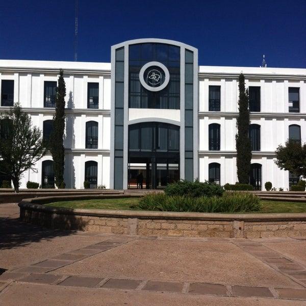 Photo taken at Universidad Autónoma de Durango Campus Zacatecas by JuAnt R. on 10/5/2013