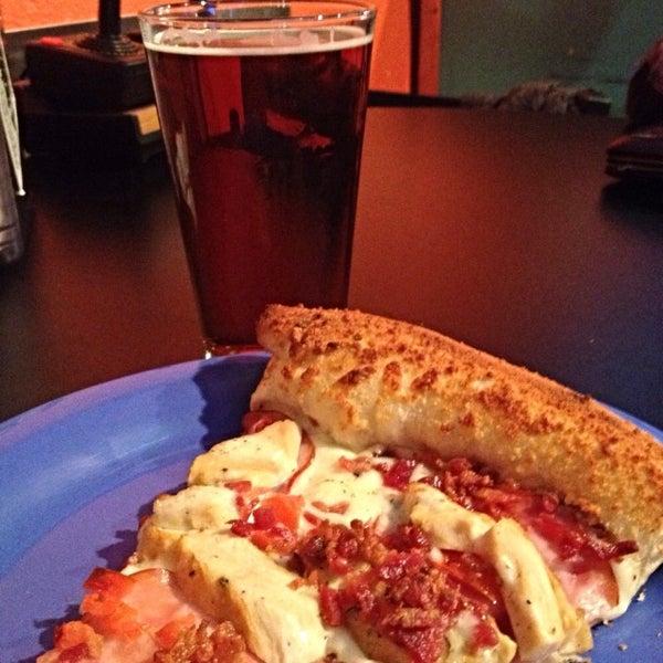 Photo taken at Pizza Schmizza Pub & Grub - Salmon Creek by Ryan J. on 2/28/2015