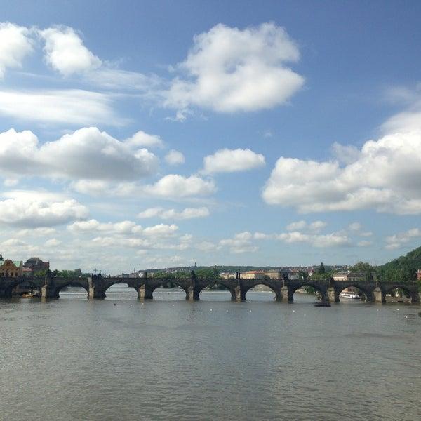 Photo taken at Karlův most | Charles Bridge by Thunyanut S. on 5/28/2013