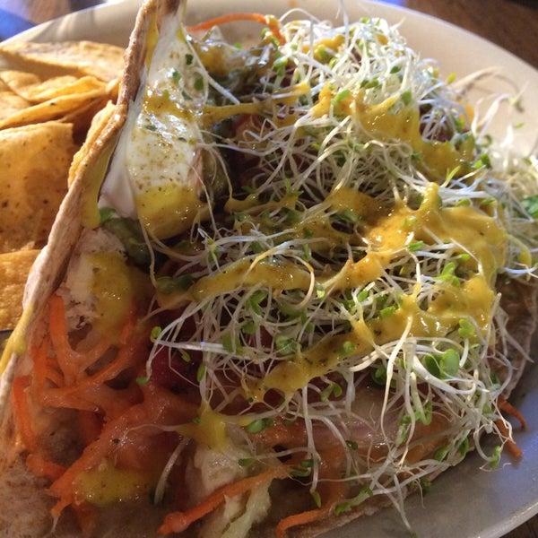 Tuna burrito
