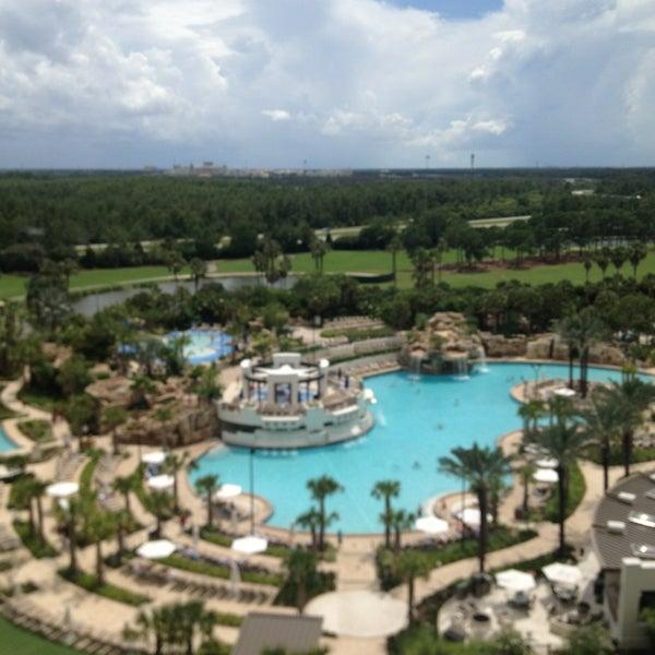 Photo taken at Marriott World Center Pool by Allen C. on 7/17/2013