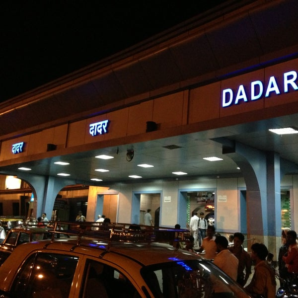 Photo taken at Dadar Railway Station by Varun B. on 3/29/2013