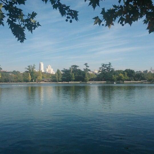 Photo taken at Lago de la Casa de Campo by Gema G. on 11/2/2013