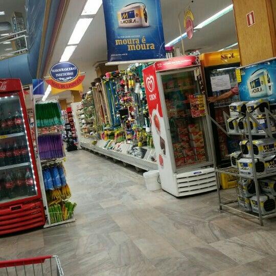 Photo taken at Supermercados Nazaré by Ronaldo A. on 6/7/2016