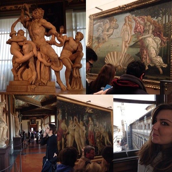 Photo taken at Galleria degli Uffizi by Daniele L. on 3/2/2014