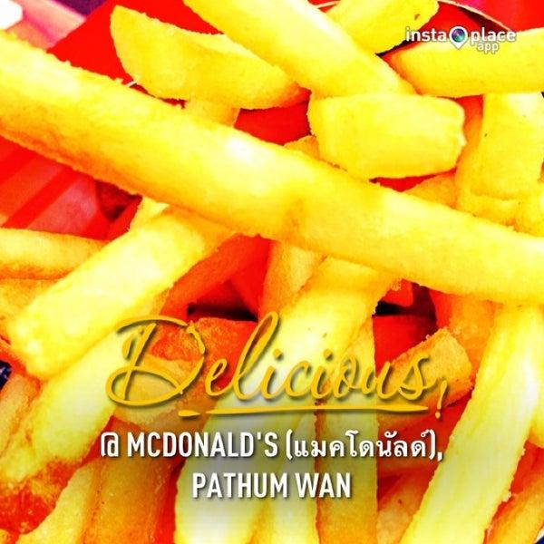 Photo taken at McDonald's (แมคโดนัลด์) by Duchess Hong D. on 1/18/2013