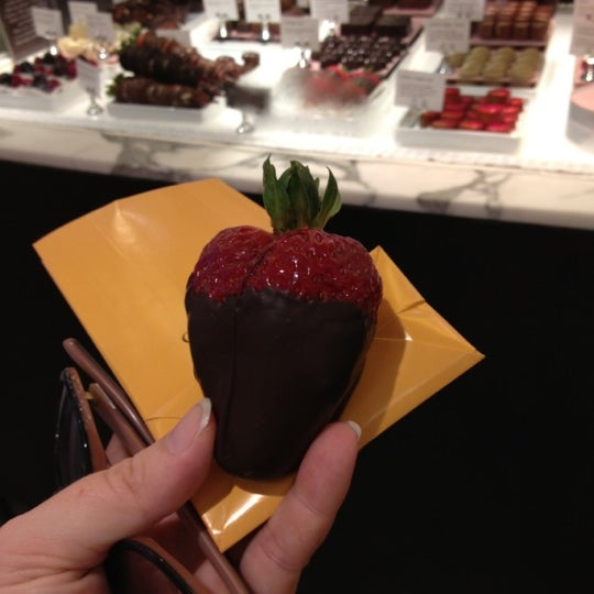 Photo taken at Godiva Chocolatier by Rose d. on 10/20/2012