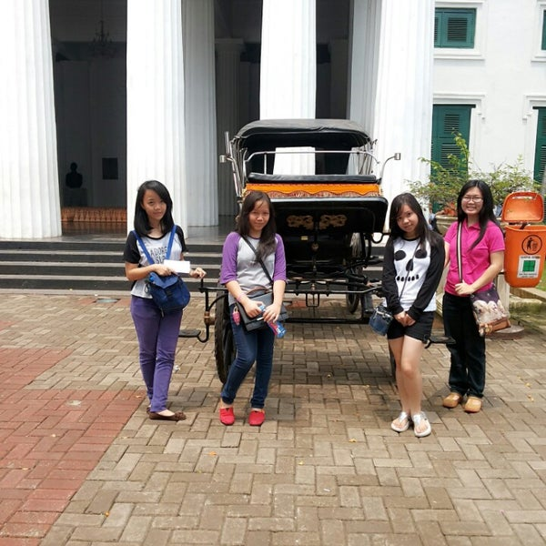 Photo taken at Museum Seni Rupa dan Keramik by Amelia Y. on 3/13/2014