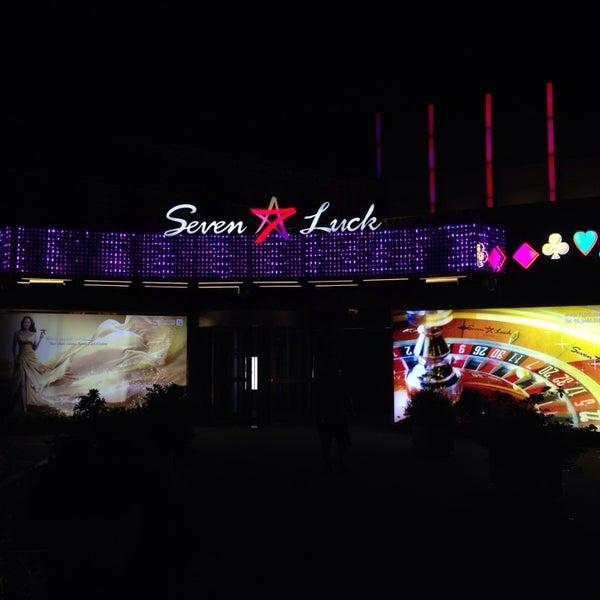 Photo taken at 세븐 럭 카지노 (Seven Luck Casino) by M N. on 7/11/2014