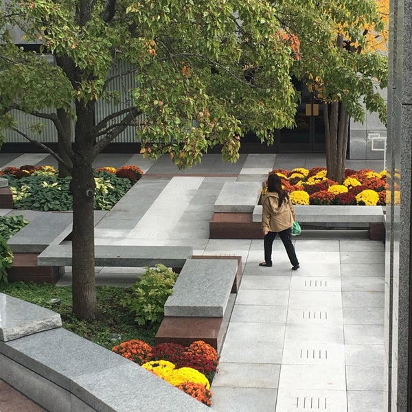 Photo taken at Aon Center by Joanne G. on 10/19/2016