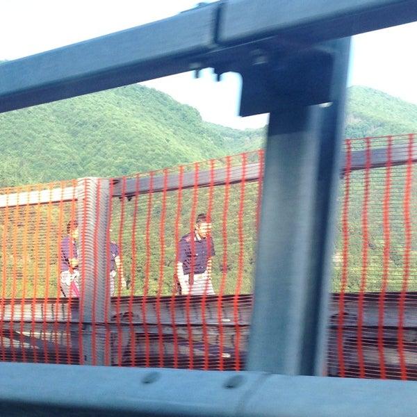 Photo taken at Autostrada A16 Napoli - Canosa by Nicola M. on 7/30/2013