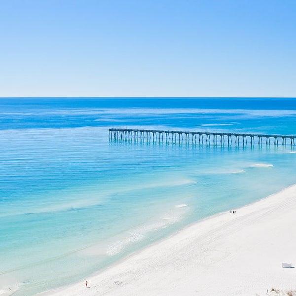 Photo taken at Hilton Pensacola Beach by Jack I. on 7/31/2015