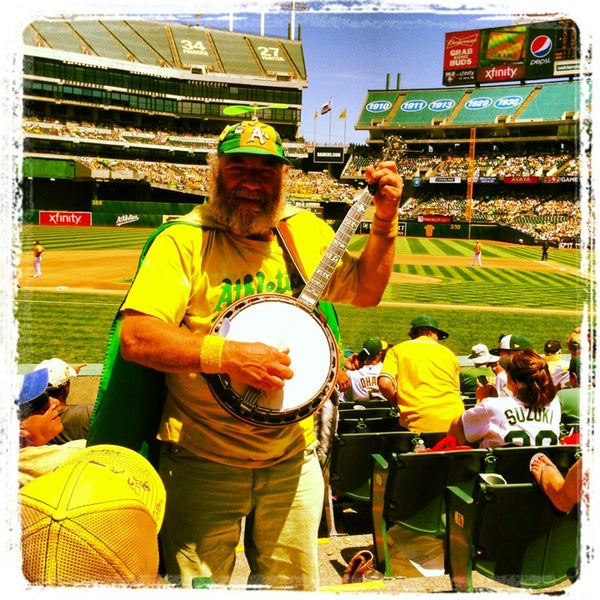 Photo taken at O.co Coliseum by Claudia L. on 10/10/2013