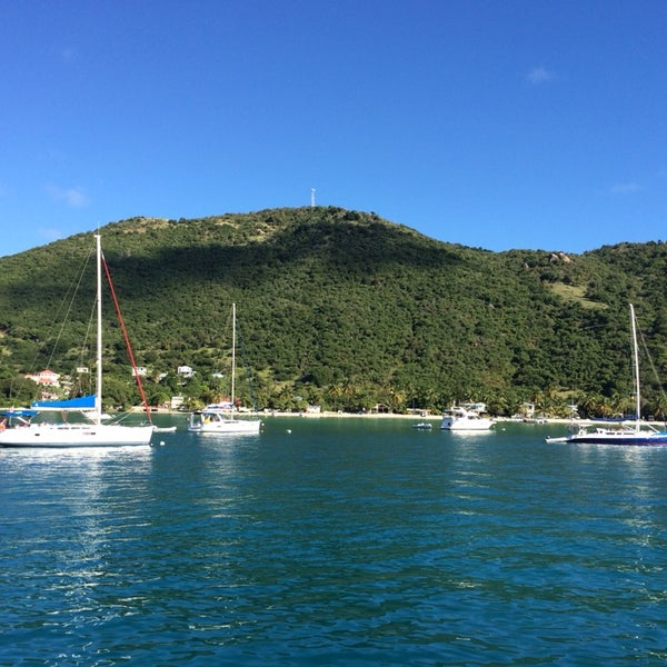 Photo taken at Jost Van Dyke Island by Kurt A. on 11/23/2013