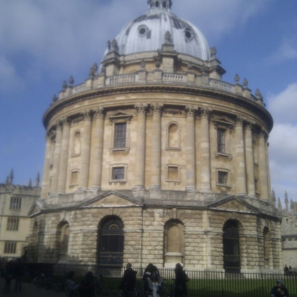 Photo taken at Radcliffe Camera by Matias F. on 3/2/2013
