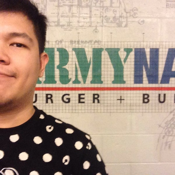 Photo taken at Army Navy Burger + Burrito by Onchie B. on 11/26/2013