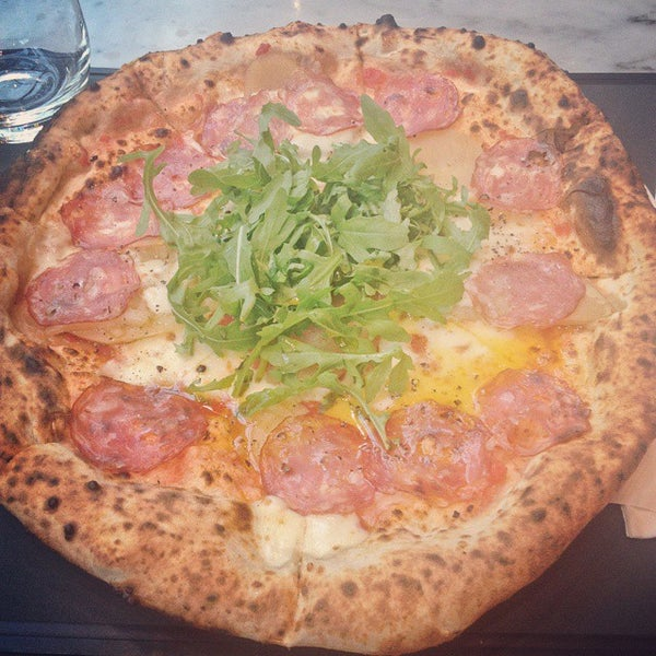 Photo taken at Franco Manca by Leila W. on 5/7/2015
