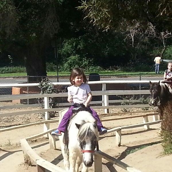 Photo taken at Griffith Park Pony Rides by Vikki on 4/2/2013