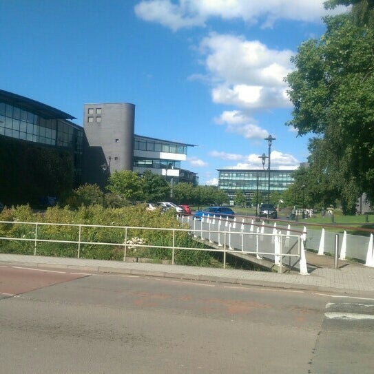 Photo taken at University of Warwick Library by Dave F. on 8/26/2015