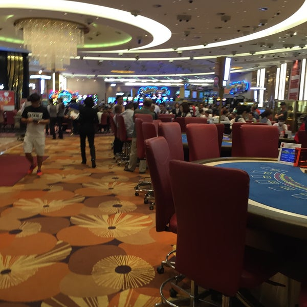 Photo taken at Seven Luck Casino by Gökhan K. on 8/24/2015