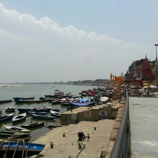 Photo taken at Dasaswamedh Ghat by Gaurav Z. on 5/3/2015