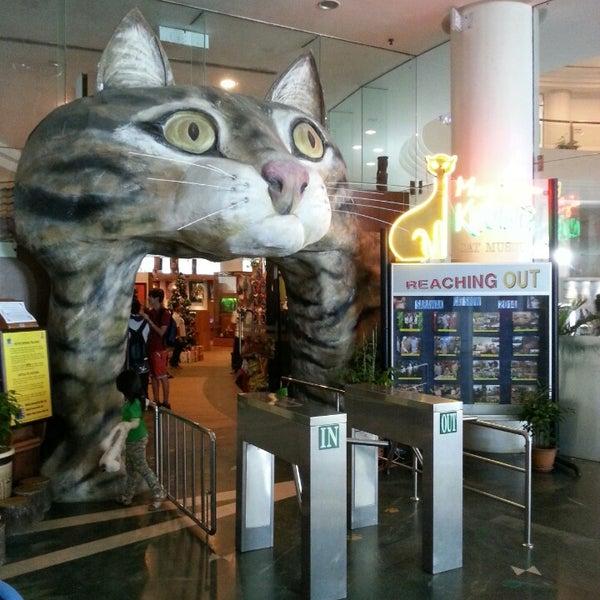 Photo taken at Cat Museum (Muzium Kucing) by Mior R. on 12/26/2014
